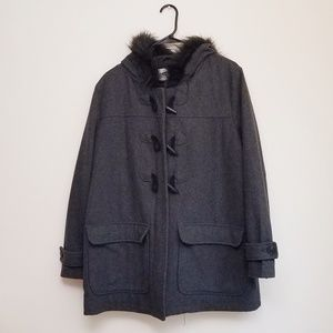 Old Navy Wool Coat size large